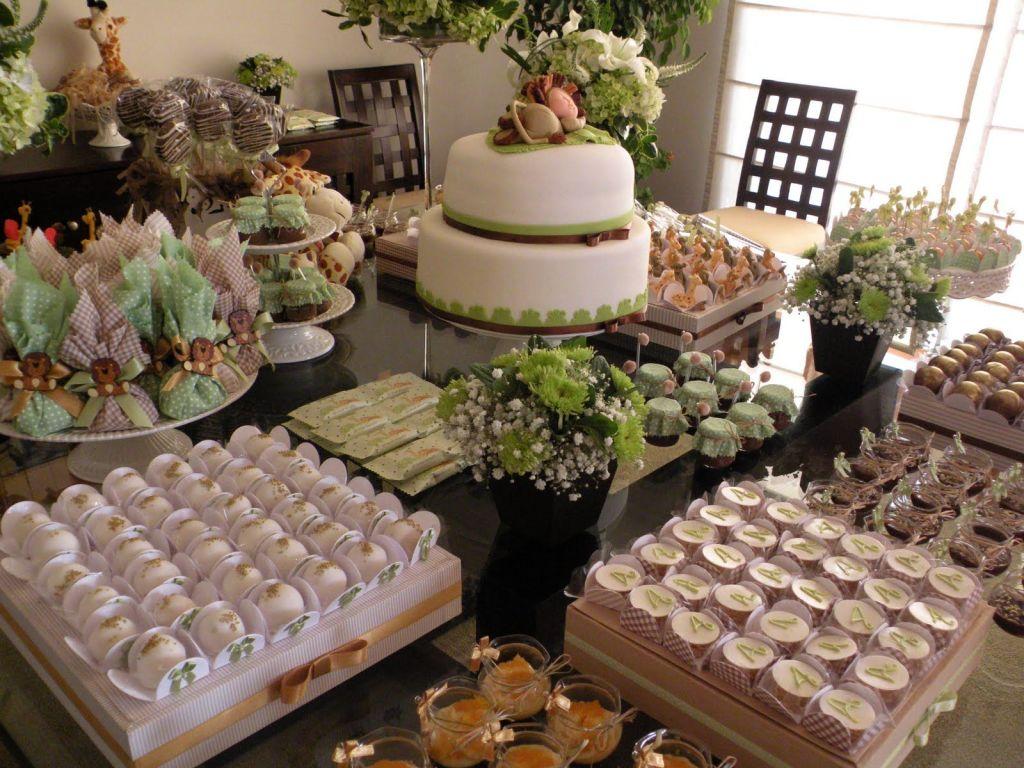 Como decorar una mesa de comida para baby shower 20 for Ideas decorativas economicas