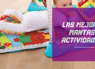 mejores mantas de actividades para bebés