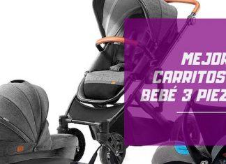 mejores carritos de bebé 3 piezas
