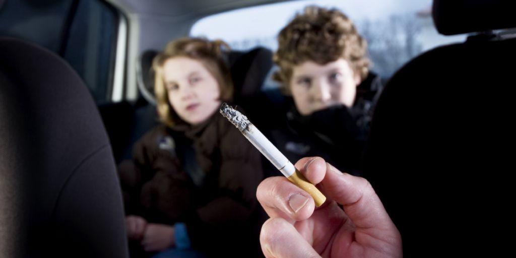 fumar delante de los hijos